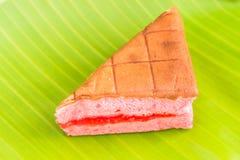 雪芳蛋糕 免版税库存图片