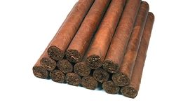 雪茄一些 图库摄影