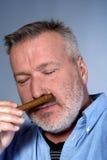 雪茄人 免版税库存照片