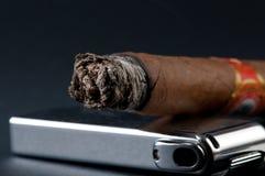 雪茄打火机 免版税库存照片