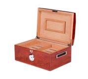 雪茄盒开张了 免版税库存图片