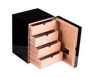 雪茄盒开张了 库存照片