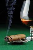 雪茄饮料 免版税库存照片