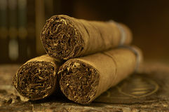 雪茄 库存图片