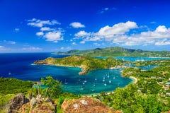 雪莉高度安提瓜岛 免版税图库摄影