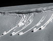 雪蜗牛& x28; 雪balls& x29; 免版税库存图片