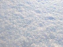 雪表面背景 免版税库存照片