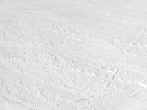 雪表面 库存照片