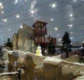 滑雪迪拜,阿联酋 库存照片