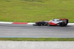 雪邦F1 4月2010日 免版税库存图片