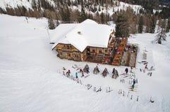 滑雪酒吧 图库摄影