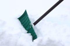雪铁锹 免版税图库摄影