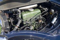 雪铁龙牵引的引擎从1952年 库存图片