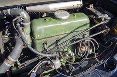 雪铁龙牵引的引擎从1952年 免版税库存照片