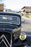 雪铁龙牵引avant在Boningen,瑞士 免版税库存照片