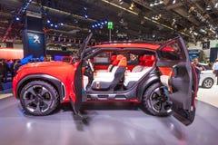 雪铁龙Aircross在IAA的概念汽车2015年 免版税库存照片