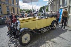 1928年雪铁龙C6敞篷车 免版税库存照片
