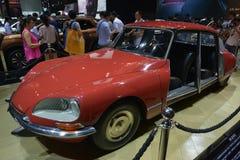雪铁龙DS 21 1968古董车 图库摄影