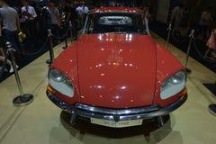 雪铁龙DS 21 1968古董车 库存照片