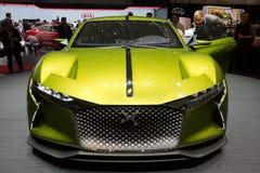 雪铁龙DS E紧张的GT概念汽车 库存照片