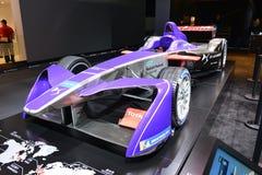 雪铁龙DS F1赛车 免版税库存图片