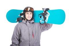 滑雪雪体育运动跟踪冬天 库存照片