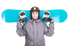 滑雪雪体育运动跟踪冬天 免版税图库摄影