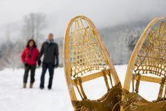 雪靴 免版税库存图片