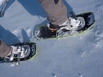 雪鞋子 免版税库存图片