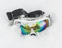 滑雪风镜 免版税图库摄影