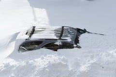 雪风暴 免版税库存图片