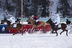 雪马球世界杯Sankt莫里茨2016年 库存图片