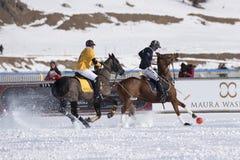 雪马球世界杯Sankt莫里茨2016年 图库摄影