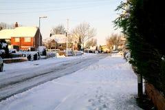 雪, 2014年12月 免版税库存图片