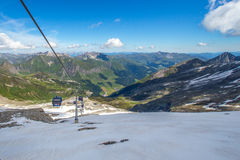 滑雪驻地 库存图片