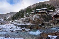 雪猴子公园,山之内,日本 图库摄影