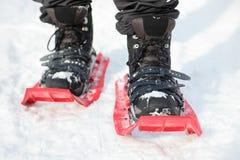 雪靴 图库摄影