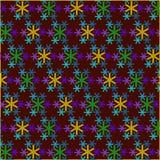 雪pattern3 免版税库存照片