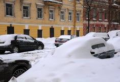 雪unders 免版税库存照片