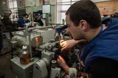 零件制造业手表的 图库摄影