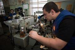 零件制造业手表的 免版税库存图片