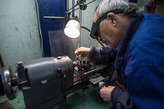 零件制造业手表的 库存照片