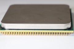 以零件和组分为目的计算机主板 图库摄影