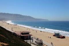 雷东多海滩加州 免版税图库摄影