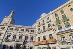 雷乌斯,卡塔龙尼亚,西班牙 免版税图库摄影