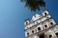 雷伊斯马戈斯教会,果阿 图库摄影
