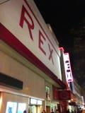 雷克斯俱乐部迪斯科舞厅巴黎 免版税库存图片