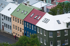 雷克雅未克,冰岛,北欧 免版税库存照片