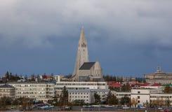 雷克雅未克,冰岛 库存照片