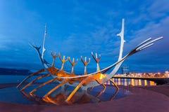 雷克雅未克,冰岛 免版税图库摄影